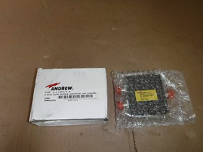 New Andrew S-2-Cpus-L-N 2-Way Low Power Splitter 800-2500Mhz