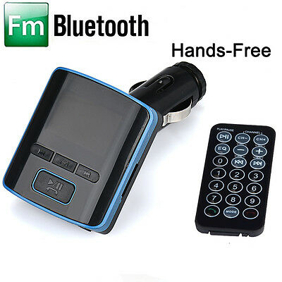 i6 BT Dual USB Charger LCD Car Kit MP3 Bluetooth FM Transmitter With Hands-Free