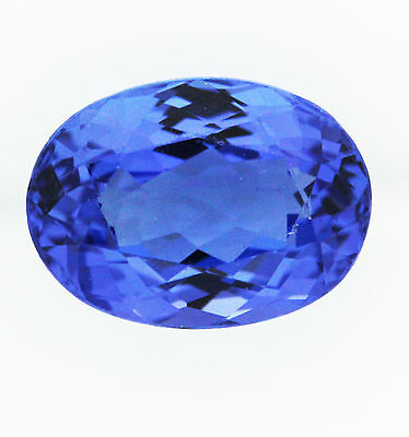 2.35ct!! NATURAL TANZANITE EXPERTLY FACETED IN GERMANY UNTREATED +CERTIFICATE
