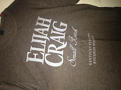 Elijah Craig Bourbon Small Batch 1789 Kentucky straight Whiskey Large shirt New