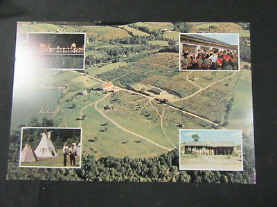 Bashore Scout Reservation 9 by 6 Postcard, 1960's          c45