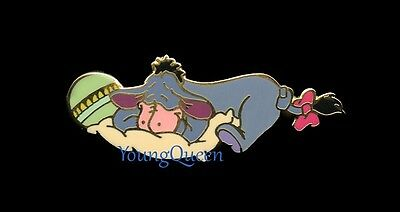 Disney Auctions Sweet Dreams Baby Eeyore Sleeping on Pillow Le 250 Pin