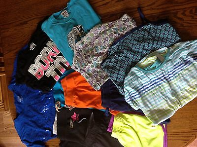 Lot of Girls Spring/Summer Size 10/12 Clothes Different Brands Including Justice