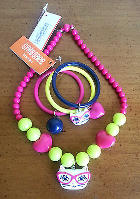 NWT GYMBOREE Bright Ideas NECKLACE and BRACELET Set GIRLS Accessories