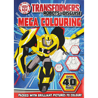 Transformers Mega Colouring by Igloo Books (Paperback), Children's Books, New