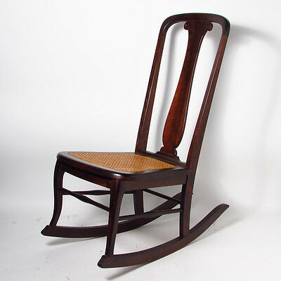 Antique Rocking Chair with Caned Seat LOCAL PICKUP ONLY NEWBURGH NY 12550