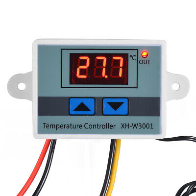 220V Digital Temperaturregler Thermostat LED Control Temperatur Regler 1500W