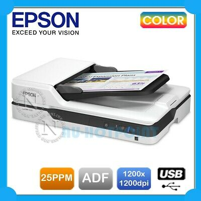 Epson WorkForce DS-1630 A4 Sheetfed/Flatbed A4 Color USB Document Scanner+ADF