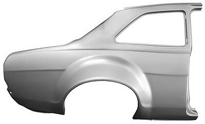 Ford Escort Mk1 Rear Quarter Panel with Bubble Arch Complete Right Hand Side O/S
