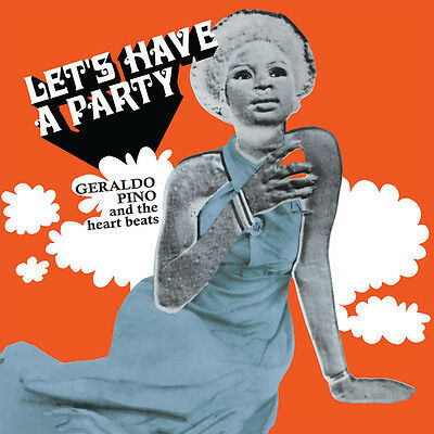 GERALDO PINO & THE HEARTBEATS Let's Have A Party PMG LP NEW! Funk Afrobeat