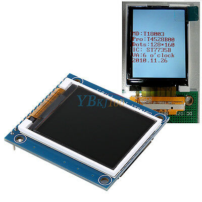 """1.8"""" inch ST7735R SPI 128*160 TFT LCD Display Module with PCB for Arduino"""