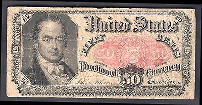 USA. Fifty Cents, 1875, Act of June 30 1864, Very Good.