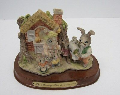 Little Nook Village Rabbits with Family scene by Leonardo - KEY P9
