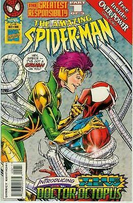 Amazing Spiderman # 406 (Overpower card) (Angel Medina) (USA,1995)
