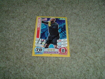 Tim Howard - Usa - Signed Match Attax 2014 World Cup Trade Card