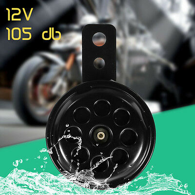 Universal Compact Impermeable Moto Coche Truck Electric Horn 12V 105db Claxon