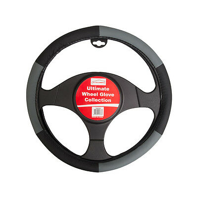 Halfords Interior Protector Glove 15 Inch Steering Wheel Cover Leopard