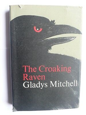 Gladys Mitchell.The Croaking Raven.1966 First edition.Hardcover.Scarce.1st HB/DW