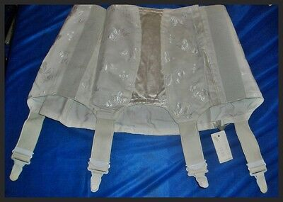 RAR edler Vintage Naturana Hüfthalter Strumpfgürtel 70/72 Pin Up Girdle (H473)