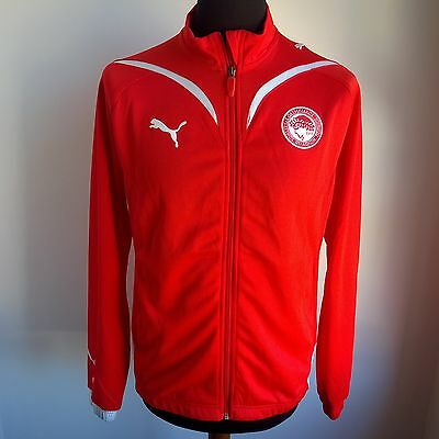Olympiakos Track Top Football Shirt Puma Jersey Size Adult S
