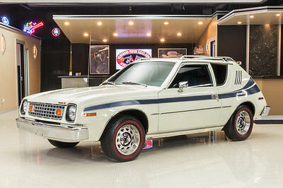 1977 AMC Gremlin  Gremlin X! Original 258ci I6, Auto, PB, PS, A/C, Plaid Interior, Alpine White!