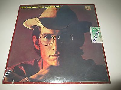 Townes Van Zandt - Our Mother The Mountain - Tomato Us 1978 Sealed