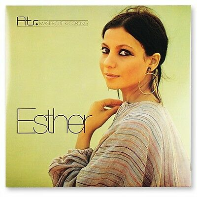 Esther Ofarim: Esther 180 G LP ATR MC-LP 001 ATR-Mastercut Recording Audio Trade
