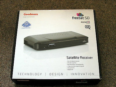 Goodmans Freesat Box GFSAT101SD - Hardly Used - Boxed - Good Working Order