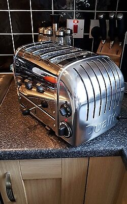 Dualit 4-Slice Toaster 47007 Stainless-Stainless-Brand New  -