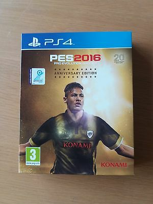 Ps4 Game **** Pes 2016 Anniversary Edition **** New Sealed