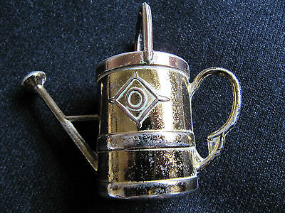 Miniature Brass Watering Can 2.5 inches tall