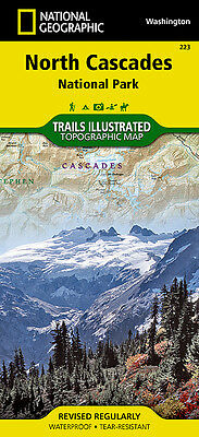 Trails Illustrated North Cascades National Park