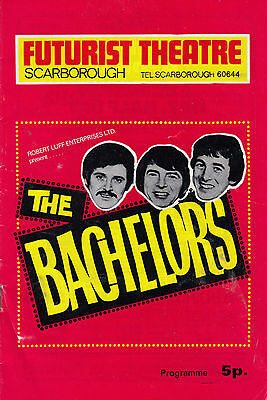Mike Yarwood with The Bachelors Yorkshire 1970s Live Concert Theatre Programme