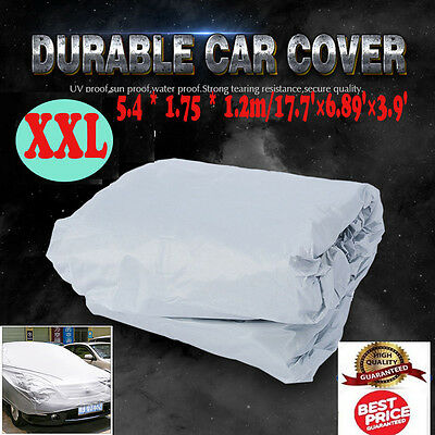 Size XXL Full Car Over Cover UV Protection Car Waterproof Breathable Outdoor UK