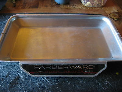 Farberware Open Hearth Rotisserie Grease drip tray 454 454A For 450 460 TESTED