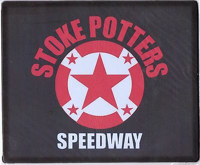 Stoke Potters Mouse Mat With Logo ( Brand New )