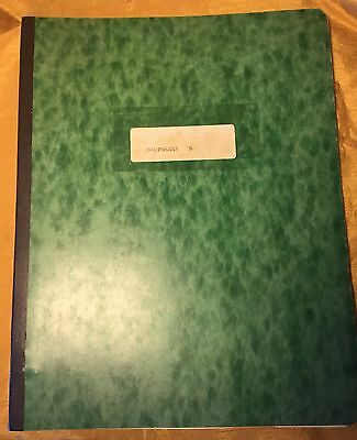 ELSA LANCHESTER Owned J.P. DONLEAVY WWII Era Play / Theater Script BALTHAZAR B.
