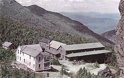 Mount Mansfield Hotel Green Mountains VERMONT USA Postcard