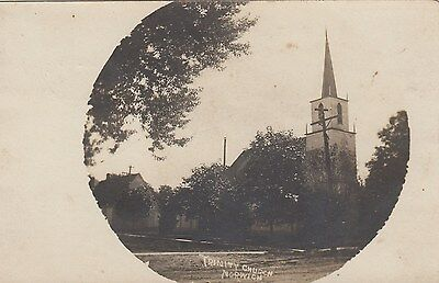Trinity Church NORWICH Ontario Canada 1901-09 Real Photo Postcard