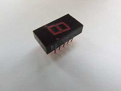 "7 Segment Red LED Display HP 5082-7740 0.3"" 7.6mm"