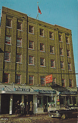 The Park Lane Hotel KIRKLAND LAKE Ontario Canada Advertising Postcard