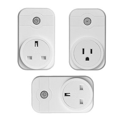 Wifi Remote Control Smart Plug Timing Voice Mobile Phone Control Socket Outlet