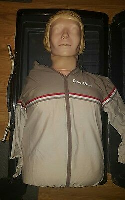 Laerdal Resusci Anne Torso Adult CPR Training EMT Medical Trainer Manikin