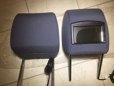 Genuine Freelander 2 pair  Head Rest with screens built in
