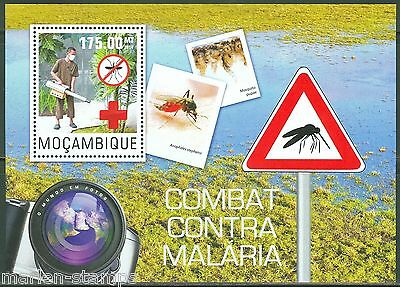 Mozambique 2014 Battle Of Against Malaria  Souvenir  Sheet First Day Cover