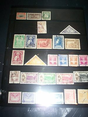 Nice LOT of Bolivia Stamps Removed from Albums Bol21DEC SEE 2 PHOTOS