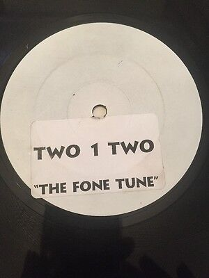 """Two 1 Two - The Fone Song Orig Rare Uk Garage 12"""" Vg+/ex 1999"""