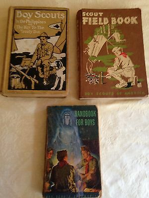 BOY SCOUTS OF AMERICA 1948 Scout Field Guide & Handbook for Boys 1911 Phillipine