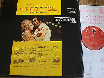 SER 5531/3 Shakespeare Much Ado about Nothing / Zeffirelli GROOVED O/S 3 LP box
