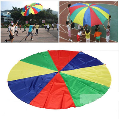 Childs Kids Play Parachute Outdoor Game Exercise Sport Toys